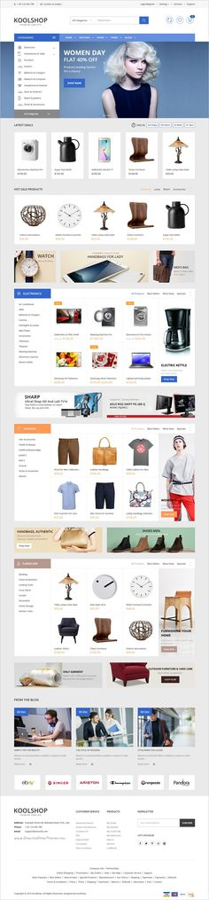 KoolShop is a modern, clean and professional multipurpose #WordPress @WooCommerce #theme for stunning eCommerce website with 12+ unique homepage layouts download now➩ https://themeforest.net/item/koolshop-multipurpose-woocommerce-wordpress-theme/18333085?ref=Datasata