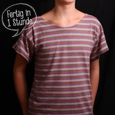 free sewing pattern - T-shirt for men [post_tags Diy Clothes Storage, Sewing Clothes, Sewing Patterns Free, Free Sewing, Free Pattern, Easy Peasy Shirt, Diy Clothes Refashion, Diy Clothes Videos, Diy Tops