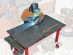 Rezultat imagine pentru welding bench ideas