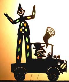 Shadow puppetry is considered the oldest form of puppetry in the world. It began 1,000's of years ago in China and India.