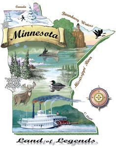 minnesota land of 10,000 lakes pictures - Bing Images