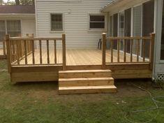 Ideas Simple Wood Decks
