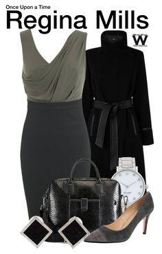"""""""Once Upon a Time"""" by wearwhatyouwatch ❤ liked on Polyvore featuring Oasis, Miss Selfridge, Kate Spade, HUGO, VANELi, Yvel, television and wearwhatyouwatch"""