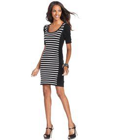 Striped T-Shirt Dress | Loft dress