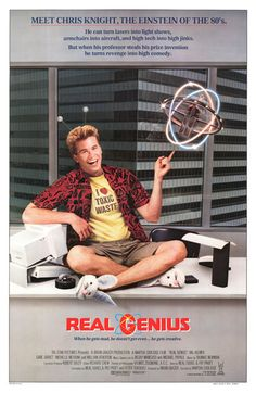 Real Genius movie posters at movie poster warehouse movieposter.com