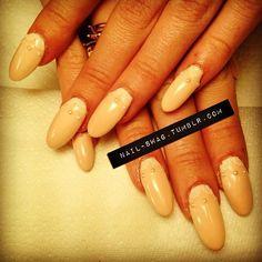 pearl nails Pearl Nails, Swag Nails, How To Do Nails, Pearls, Nail Swag, Beads, Gemstones, Pearl