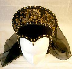 Renaissance French Hood Tudor Anne Boleyn by CadwaladrCostumes