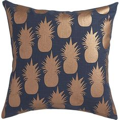 Copper Pineapple on Charcoal