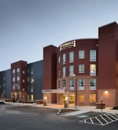 Myefski Architects   Staybridge Suites, Hospitality, Exterior, Marquette, MI.  #myefski, #architecture, #mqt, #hotel, #staybridge