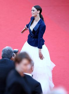 Berenice Bejo attends the Premiere of Le Passe (The Past) during The 66th Annual Cannes Film Festival at Palais des Festivals on May 17, 2013 in Cannes, France.