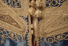 Robe (image 3 - detail) | probably Moroccan | silk | Metropolitan Museum of Art | Accession Number: C.I.53.74.2