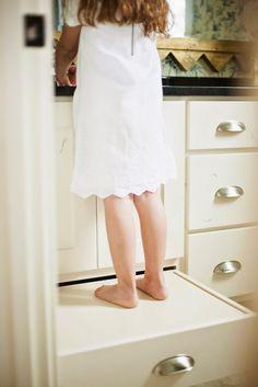 drawer/step stool | Tawna Allred Interiors