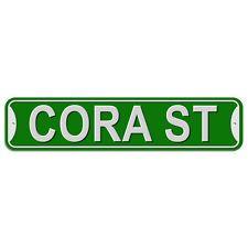 Plastic Wall Door Street Road Sign Names Female Co-Cy