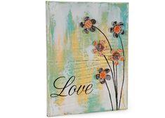 Love Mixed Media DIY Canvas Art