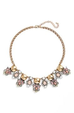 BP. Crystal Statement Necklace available at #Nordstrom