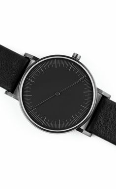 Onyx Black Watch by Simpl | From Clockwize.uk