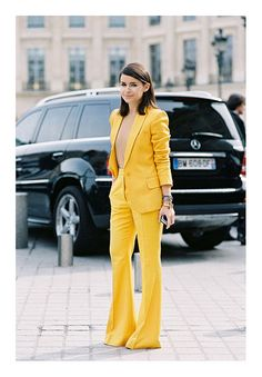 {style inspiration | at the office : daffodil yellow} by {this is glamorous}, via Flickr