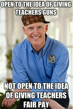 Florida Republican Governor Rick Scott