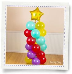 Spiral Balloon Column How-To - Party City