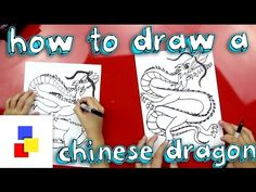 How To Draw A Chinese Dragon - Art For Kids Hub - great drawing instructions for all types of art Disney Drawings, Cartoon Drawings, Cool Drawings, Pencil Drawings, Art For Kids Hub, Art Hub, Chinese Dragon Drawing, Chinese Art, Drawing Lessons