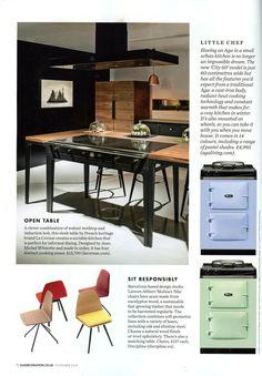 La Cornue's contemporary W range www.lacornue.com Elle Decoration November 2014