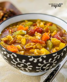 Enjoy these delicious winter-warming dishes from the Kraft Kitchens. Vegetable Soup Recipes, Easy Soup Recipes, Dinner Recipes, What's Cooking, Cooking Recipes, Bowl Of Soup, Soup And Sandwich, Special Recipes, What To Cook