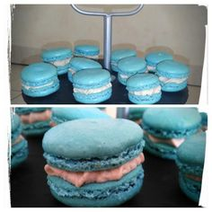 Blue Macarons - Pâtisser Malin