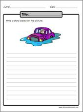 Practice writing an essay from a picture  Field Trip   Printable     Pinterest