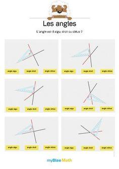 Le but de l'exercice est de dire si l'angle tracé est droit, aigu ou obtus. L'équerre est déjà placée, l'élève n'a plus qu'à donner la réponse. Catégorie : Géométrie Module : Les angles Application téléchargeable sur l'AppStore. Pour en savoir plus : https://www.youtube.com/watch?v=jnBPUgB48Wg