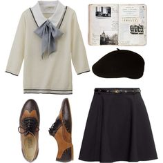 """Parisian"" by jennyanydots24 on Polyvore"