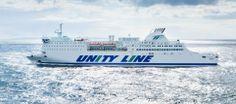 #unityline #ferry #ferries #skania #sea  #poland