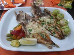 Fresh Canarian fish at La Rubia in Melenara (Gran Canaria, Spain)