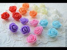 Diy Hair Accessories Ribbon, Diy Hair Bows, Diy Bow, Handmade Flowers, Diy Flowers, Fabric Flowers, Paper Flowers, Diy Crafts For Tweens, Felt Crafts Diy