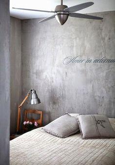 Quiero una pared de cemento (falso)   I want a (faux) concrete wall