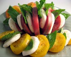 Caprese! I could, and I have tried to, eat this at least once a day. So great!