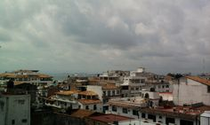 Vista al pueblo desde #HotelCatedral #PuertoVallarta