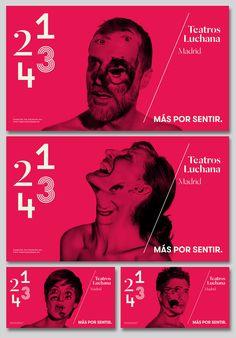 Teatros Luchana Madrid on Behance