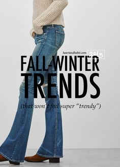 Fall-Winter 2015 Clothing Trends, That Won't Feel That Trendy #fallstyle