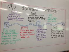 Electricity timeline- Did You Know? Science Topics, Science Geek, Stem Science, Science Ideas, Science Experiments Kids, Physical Science, Science Fair, Science Lessons, School