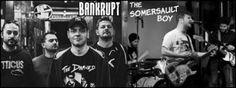 Együtt koncertezik a The Somersault Boy és a Bankrupt - Május 31-én, szerdán az A38 tetőteraszon