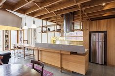 Unconventional kitchen design by Tony Stuart and Polly Bastow of Form Architecture Furniture Furniture Projects, Kitchen Furniture, Furniture Design, Form Architecture, Architect Design, Cool Kitchens, Service Design, Minimalism, Kitchen Design