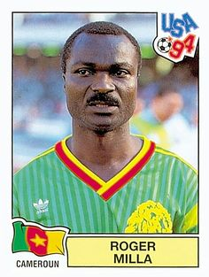 144 ROGER MILLA - CAM - FIFA World Cup USA 1994