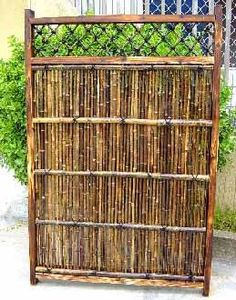 Prebuilt Bamboo Fence Panel....privacy, oh yeah