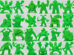 Monster In My Pocket -- Series 2 -- Neon Green