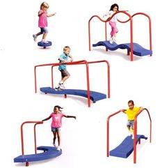 playground equipment for special needs kids | Playground equipment helps children with special needs to balance ...