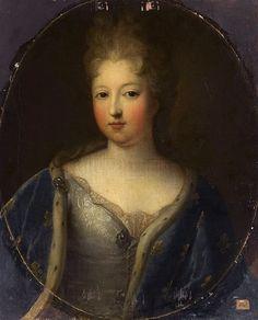 Françoise-Marie de Bourbon (1677-1749), Mademoiselle de Blois, Duchess of Orleans Louis Xiv, Roi Louis, Bourbon, Mademoiselle, Marie, Blois, Anglo Saxon, European History, King Queen
