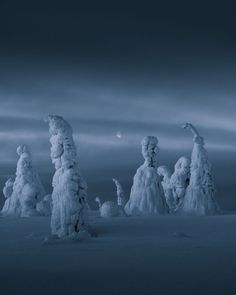 Finnish Lapland by Stian Klo - Our Culture Mag Photography Tours, Winter Photography, Nature Photography, Fantasy Landscape, Winter Landscape, Finland Travel, Lapland Finland, Beautiful Series, Travel Abroad