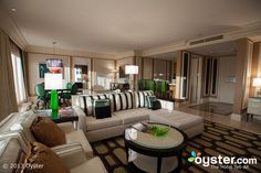 The Penthouse Suite at the Bellagio, Las Vegas