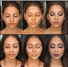 How to contour face so that it is flawless? That is the kind of question every woman asked at least once in her life. What Is Contouring, Face Contouring, Contour Makeup, Contouring And Highlighting, Contour Face, Face Makeup Tips, Diy Makeup, Makeup Goals, Pinterest Makeup
