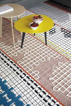 Bandes textiles par Patricia Urquiola |MilK decoration